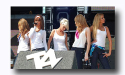 Girls Aloud at T4